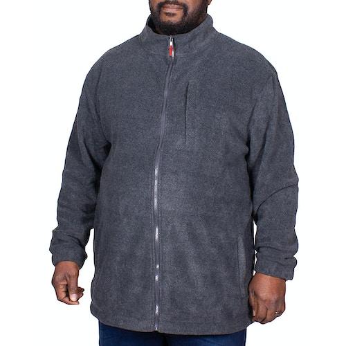 Bigdude Fleece Jacket Charcoal