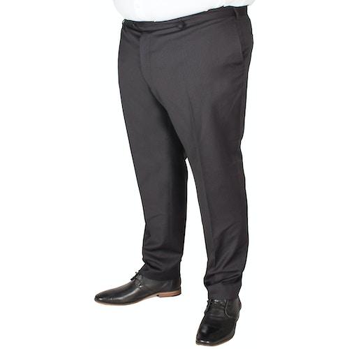 Hugo James Pin Stripe Trousers Black