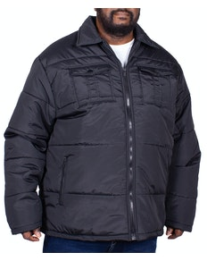 Bigdude Steppjacke Connolly Schwarz