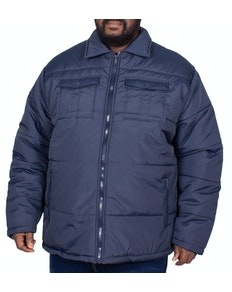 Bigdude Connolly Padded Jacket Navy