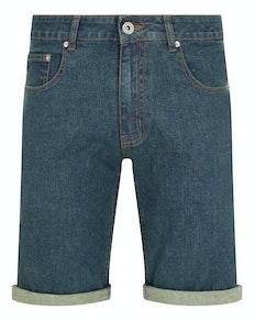 Bigdude Stretch Jeans Shorts Tint Wash