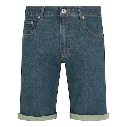 Bigdude Stretch Denim Shorts Tint Wash