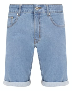 Bigdude Stretch Jeans Shorts Light Wash
