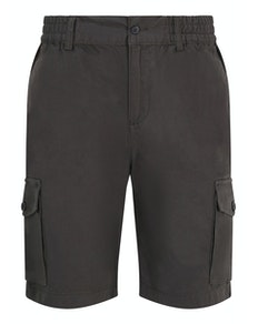 Bigdude Cargo Shorts mit elastischem Bund Anthrazit
