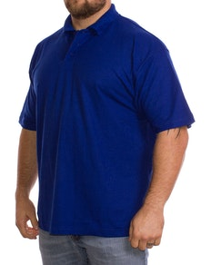 Royal Blue Plain Polo Shirt