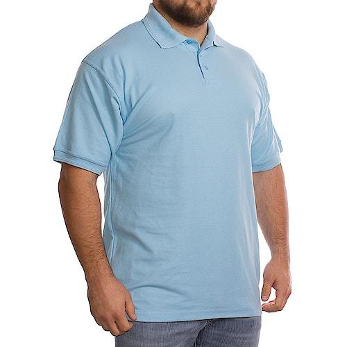 Plain Light Blue Polo Shirt