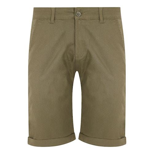 Bigdude Stretch Chino Shorts Khaki