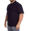 Marineblaues Poloshirt
