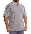 Grey Plain Polo Shirt