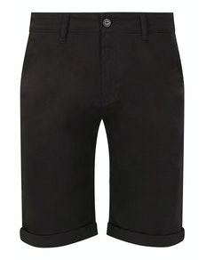 Bigdude Stretch Chino Shorts Black