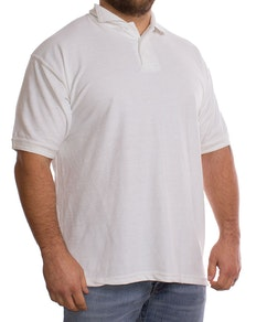 White Plain Polo Shirt