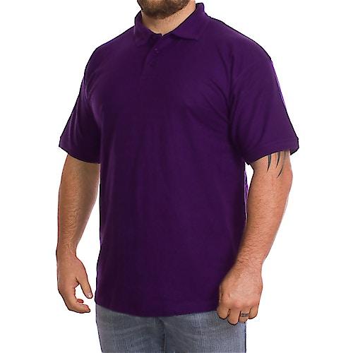 Plain Purple Polo Shirt