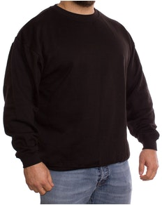 Absolute Apparel Schwarzer Pullover