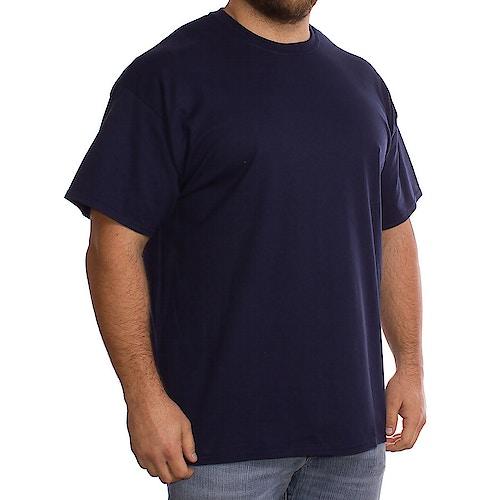Gildan Marineblaues T-Shirt