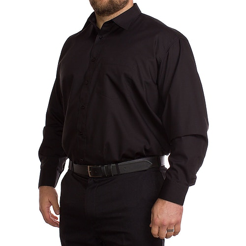 Rael Brook Schwarzes Langarmhemd