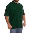 Flaschengrünes Polohemd