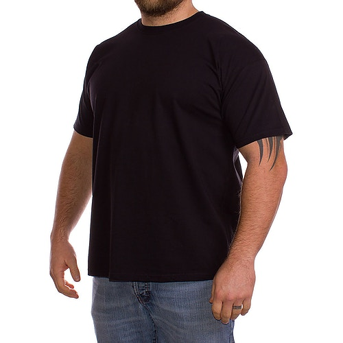 Fruit Of The Loom Plain Black t-shirt