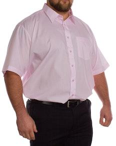 Rael Brook Pinkes Kurzarmhemd