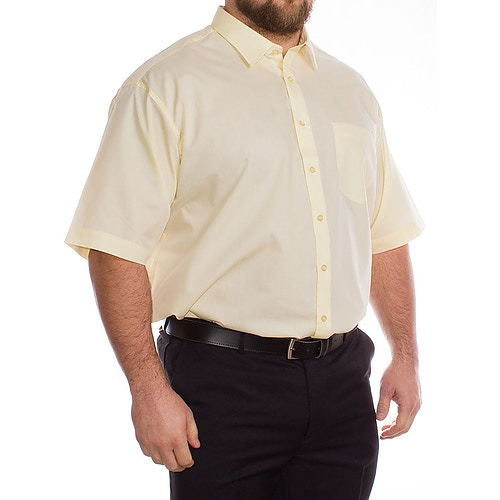 Rael Brook Lemon Yellow Short Sleeve Shirt