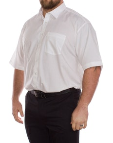 Rael Brook White Short Sleeve Shirt