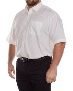 Rael Brook Weißes Kurzarmhemd