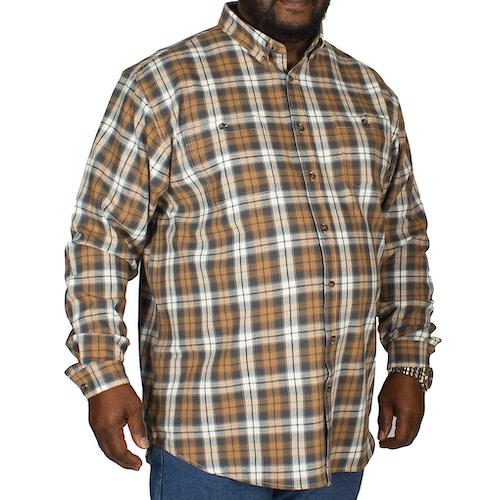 Espionage Twin Pocket Long Sleeve Shirt Taupe