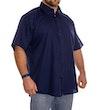 Navy Classic Short Sleeved Shirt