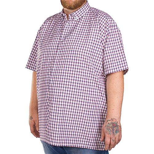 Fitzgerald Navy Check Shirt
