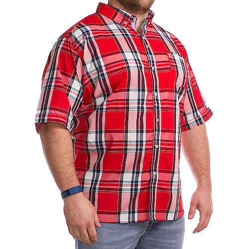 Lambretta Scarlet Tall Button Down Shirt