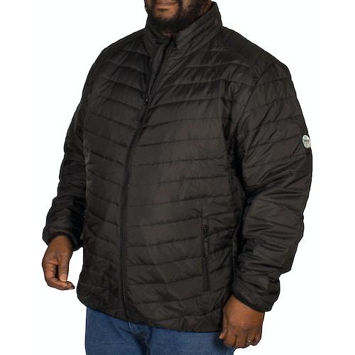 D555 Bastian Puffer Jacket Black
