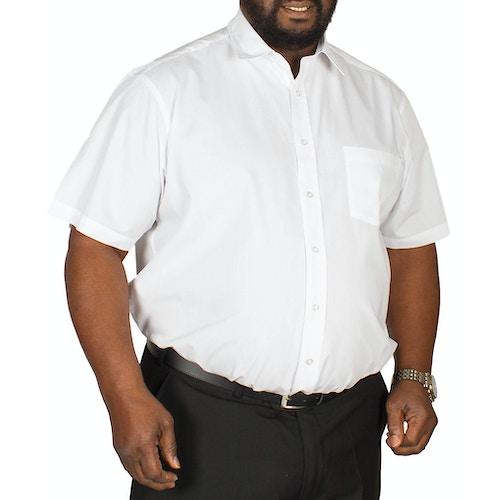 Bigdude Short Sleeve Poplin Shirt White