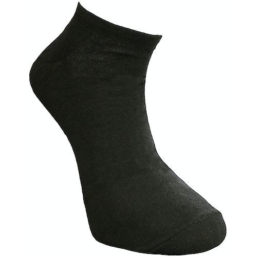 Big Foot Ankle Socken Schwarz