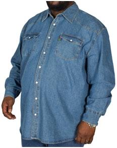 Duke Western Style Denim Shirt