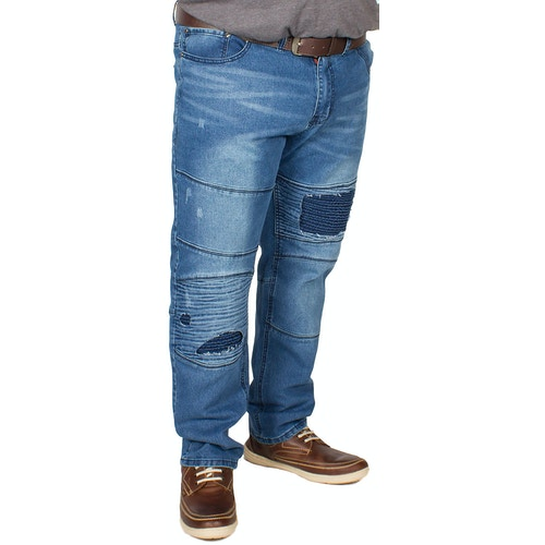 D555 Newport Tapered Fit Biker Jeans