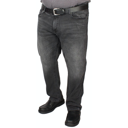 D555 Benson Tapered Fit Jeans Dark Grey