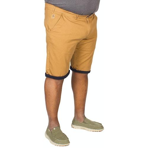 D555 Morgan Stretch Chino Shorts Brown