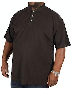 RTY Pique Polo Shirt Black