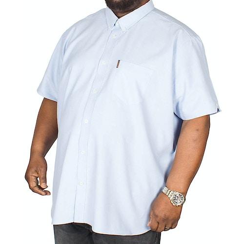 Ben Sherman Plain Oxford Shirt Blue