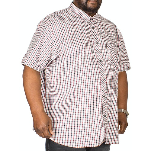 Ben Sherman Check Shirt Red/Navy
