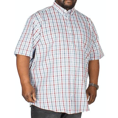 Carabou Check Shirt Red/Blue