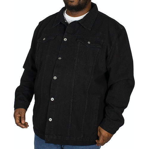 Loyalty & Faith Rocket Denim Jacket Black