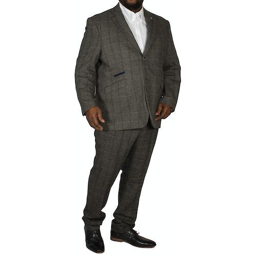 Albert Tweed Suit Grey