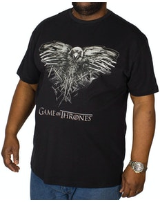Replika Game Of Thrones T-Shirt Schwarz