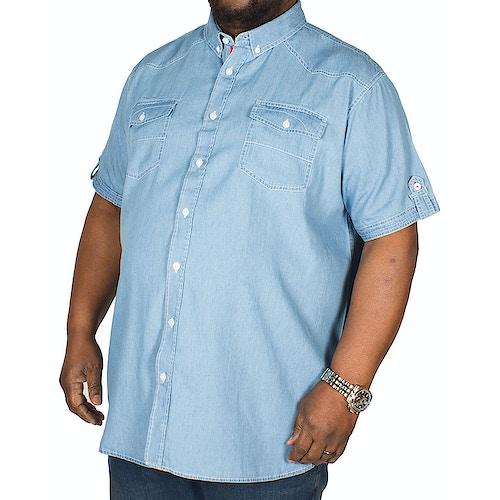D555 Nathan Twin Pocket Shirt Denim