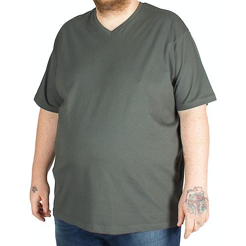 Cotton Valley V Neck T-Shirt Green