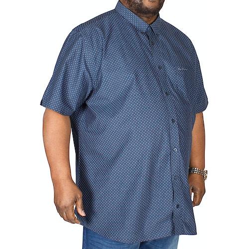 Ben Sherman Pattern Shirt Navy