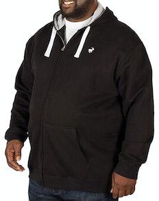 Bigdude Fleece Full Zip Hoody Black