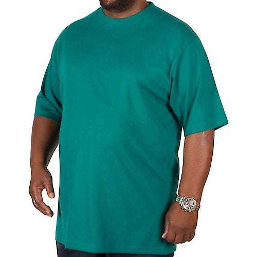 Bigdude Plain Crew Neck T-Shirt Green