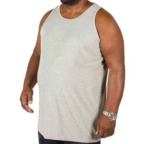 Bigdude Plain Vest Grey
