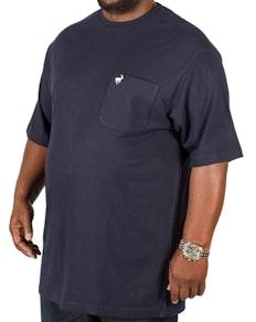 Bigdude Signature Pocket T-Shirt Navy